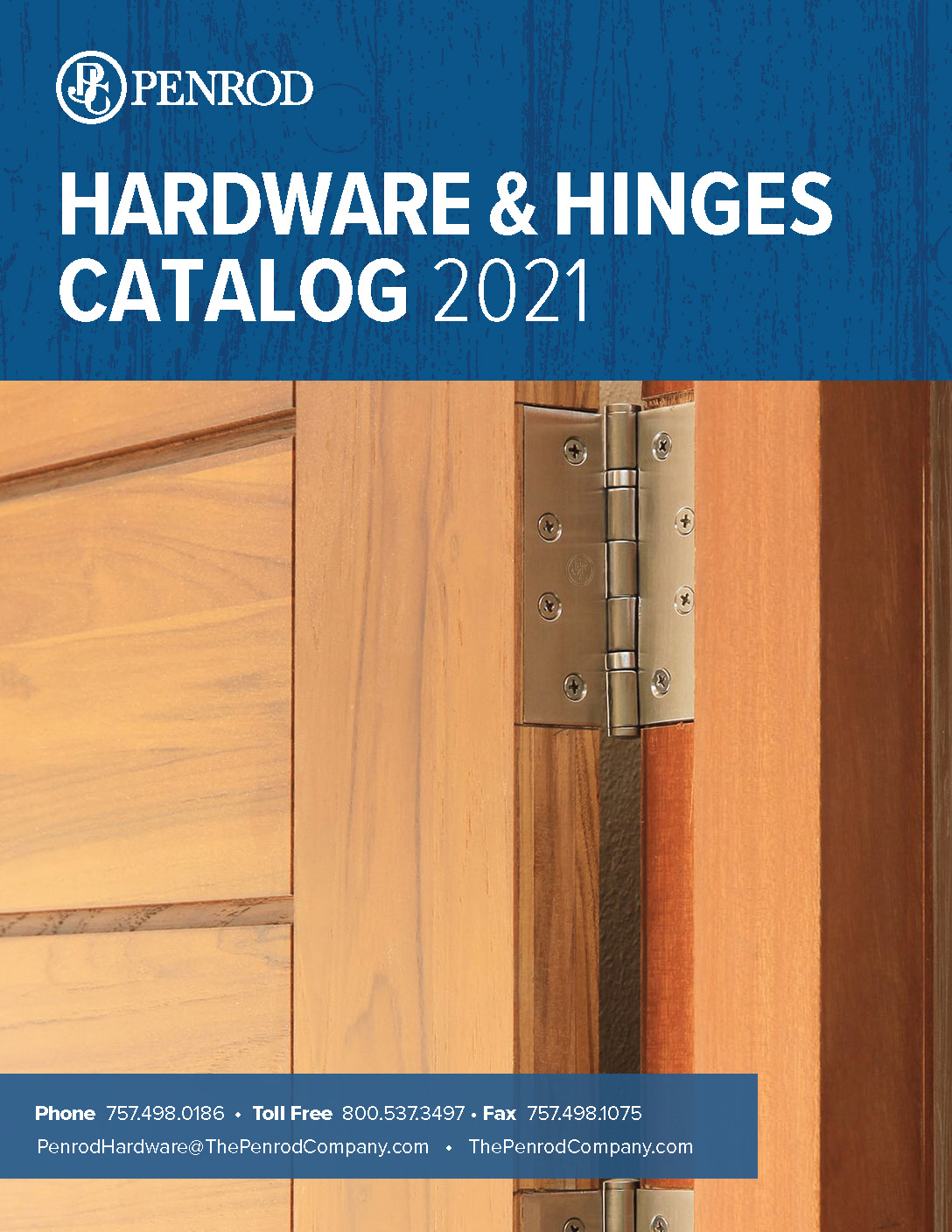 Cover of Hardware and Hinges Catalog