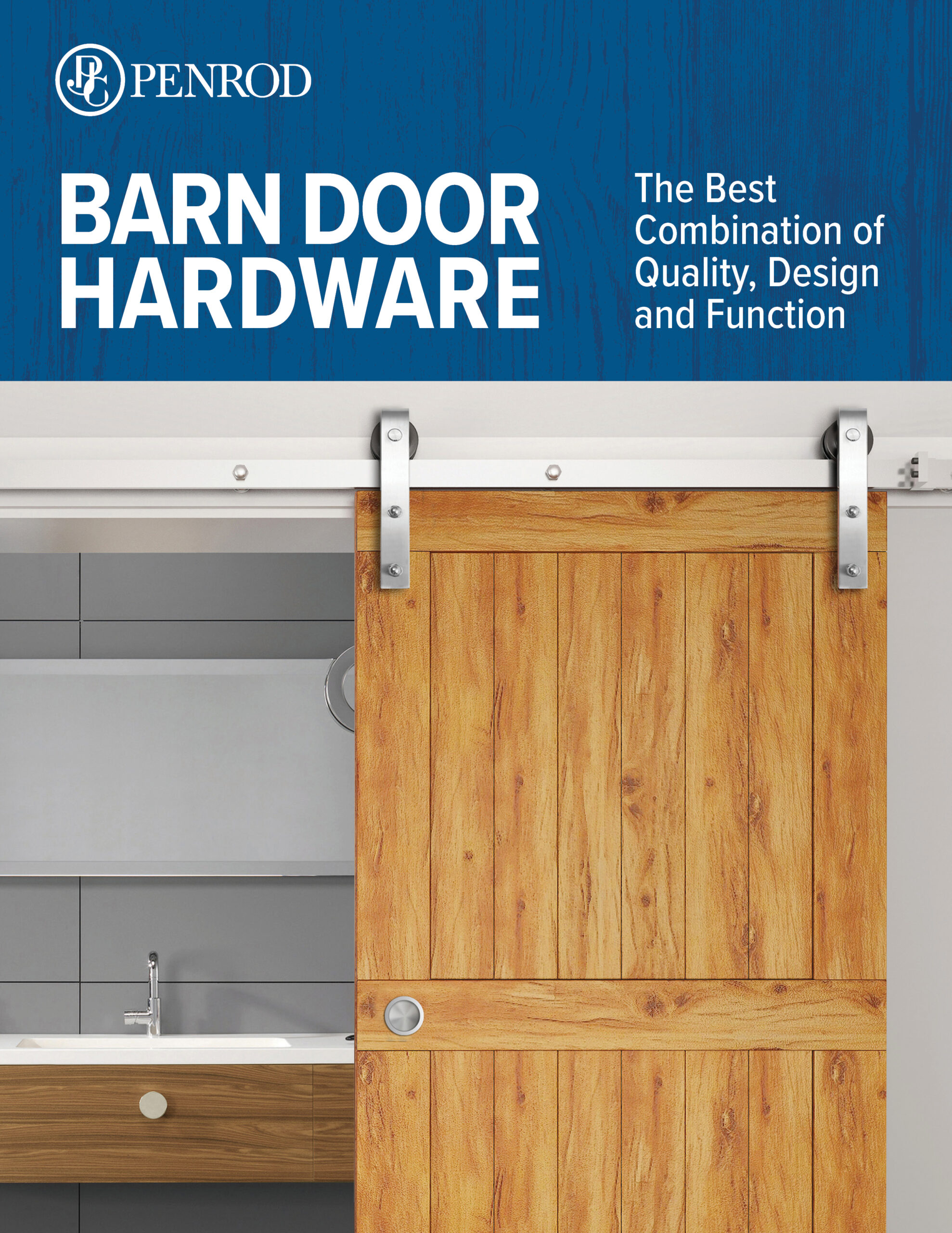 Cover of Barn Door Hardware Brochure