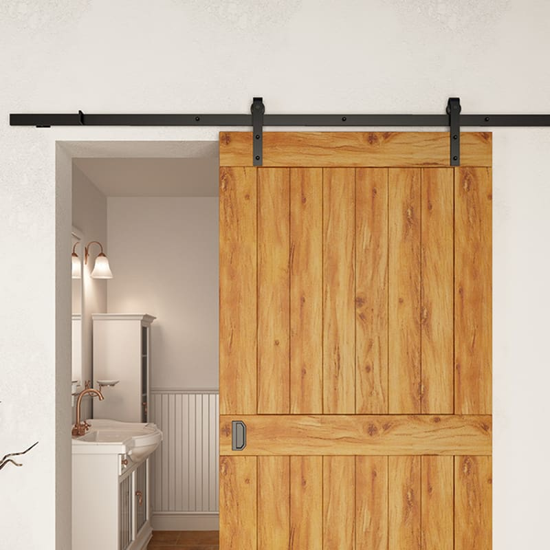 Barn Door Hardware Tracks Rollers And Ers In A Variety Of Finishes