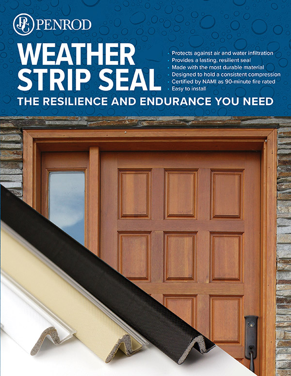 Cover of Weather Strip Seal Brochure